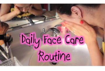 Simple Daily Face Care Routine
