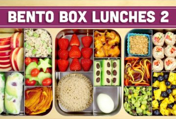 Bento Box Lunches | Healthy Recipes! – Mind over Munch