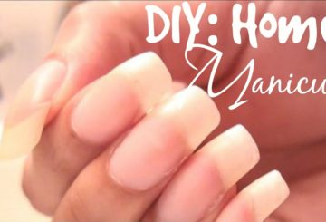 DIY: Home Manicure! Long Natural Nail Care!
