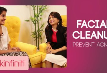 Facial Cleanup To Prevent Acne | Actor Vishakha Singh & Dr. Jaishree Sharad (Part 3) | Skincare