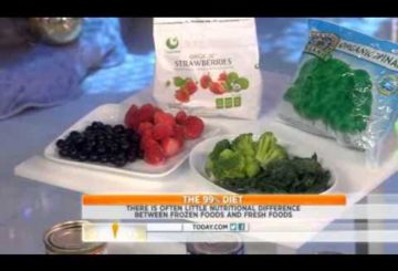 Today Show   Dr  Oz 99% Diet