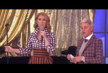 ELLEN DeGeneres SHOW Watch CELINE DION RAPPING On ELLEN SHOW Today 12 SEP 2016_WOW! MUST SEE VIDEO||