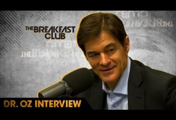 Dr. Oz Discusses The Importance of Sleep, Prostate Exams and Is Eating The Booty Healthy?