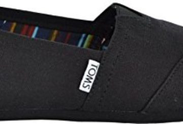 Toms Women's Classic Black/Black Casual Shoe 8.5 Women US
