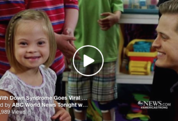 Girl With Down Syndrome Goes Viral!