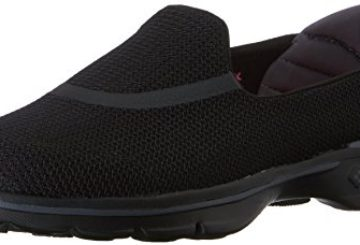 Skechers Performance Women's Go Walk 3 Slip-On Walking Shoe,Black,8 M US
