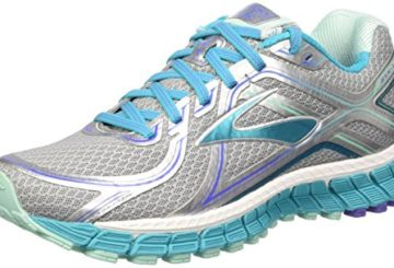 Brooks Women's Adrenaline Gts 16 Silver/Bluebird/Bluetint Running Shoe 8.5 Women US