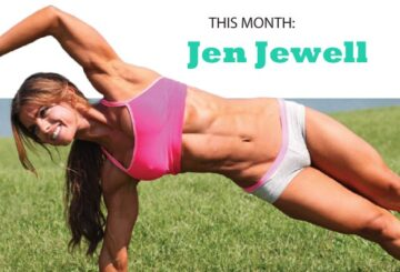 Jen Jewell's high-protein diet plan
